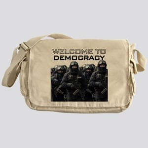Welcome To Democracy Messenger Bag