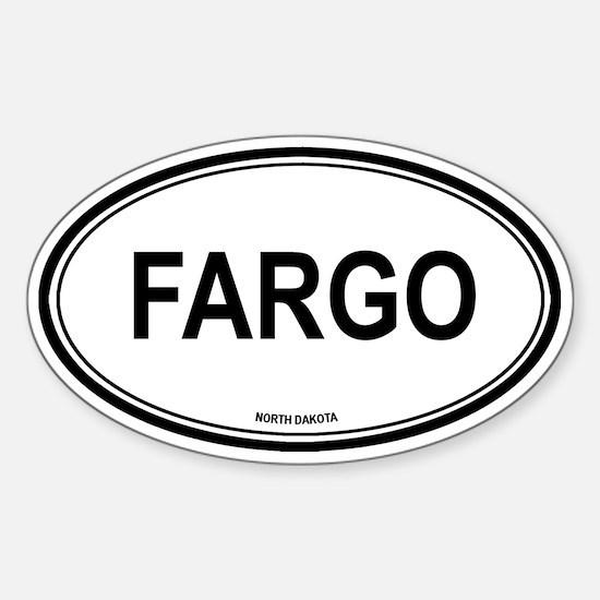 Fargo (North Dakota) Oval Decal