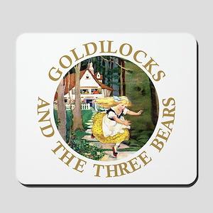 Goldilocks and the Three Bears Mousepad