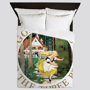 Goldilocks and the Three Bears Queen Duvet