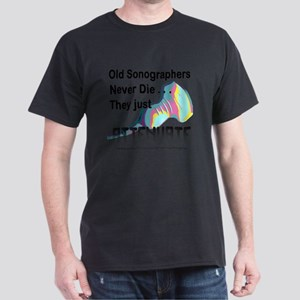 3-Old Sonographers Never Die 3 copy T-Shirt
