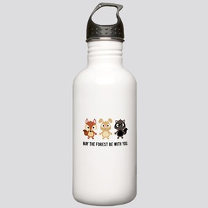 May the Forest Be With You Water Bottle -Stainless