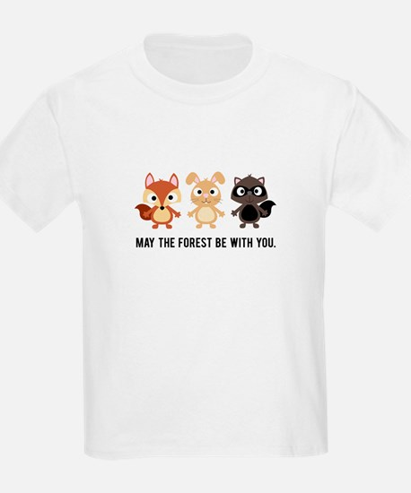 May the Forest Be With You Kids Shirt