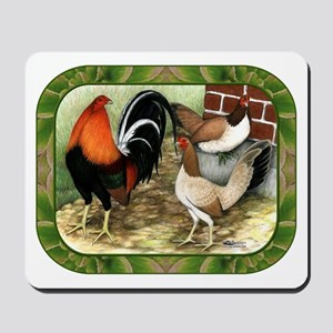 Barnyard Game Fowl Mousepad