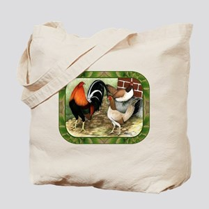 Barnyard Game Fowl Tote Bag