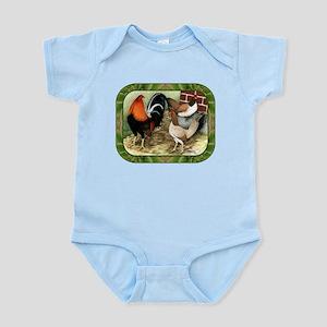 Barnyard Game Fowl Infant Bodysuit