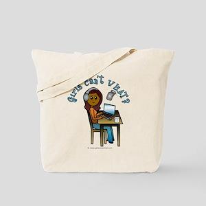 Broadcaster (Dark) Tote Bag