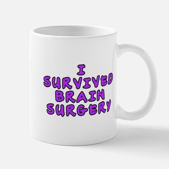 I survived brain surgery - Mug