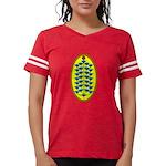 Christmas Flower Tree Womens Football Shirt