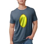 Christmas Candle Tree 00 Mens Tri-blend T-Shirt