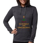 Help! I've Levitated! Womens Hooded Shirt
