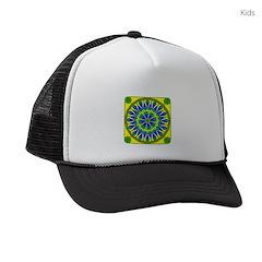 Window Flower 02 Kids Trucker hat