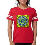 Window Flower 02 Womens Football Shirt