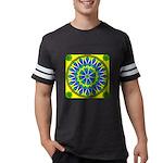 Window Flower 02 Mens Football Shirt