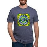 Window Flower 02 Mens Tri-blend T-Shirt