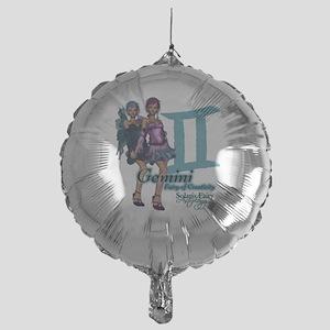 Gemini Mylar Balloon