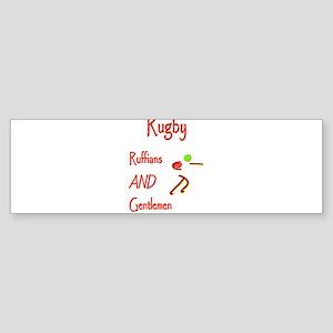 Rugby Ruffians 6000 Sticker (Bumper)