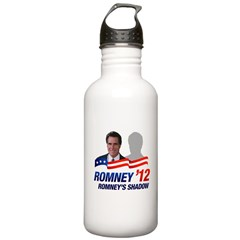 Anti-Romney Shadow Stainless Water Bottle 1.0L