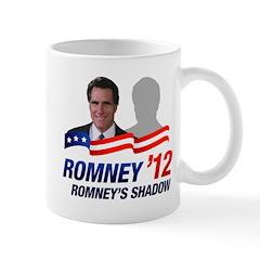 Anti-Romney Shadow Mug