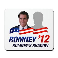 Anti-Romney Shadow Mousepad