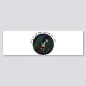once upon a time-reduced Sticker (Bumper)