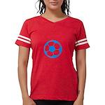 Brown Soccer Ball Womens Football Shirt