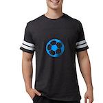 Brown Soccer Ball Mens Football Shirt