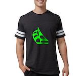 SailboatLG10x10001T... Mens Football Shirt