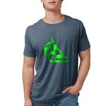 SailboatLG10x10001T... Mens Tri-blend T-Shirt