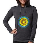 Sun Web Womens Hooded Shirt