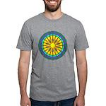 Sun Web Mens Tri-blend T-Shirt