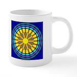 Sun Web 20 oz Ceramic Mega Mug