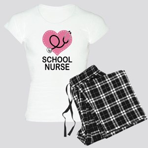 School Nurse Heart Women's Light Pajamas