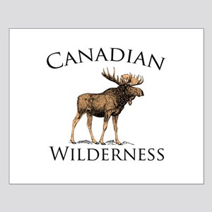 Canadian Moose Small Poster