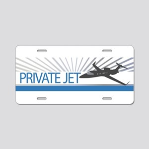 Aircraft Private Jet Aluminum License Plate
