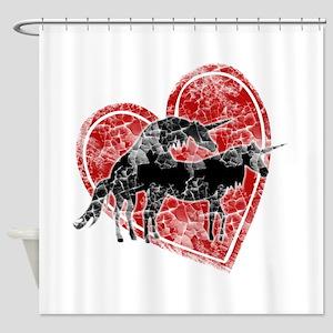 Unicorn Love Shower Curtain