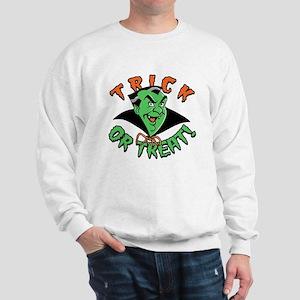 Cartoon Vampire Sweatshirt