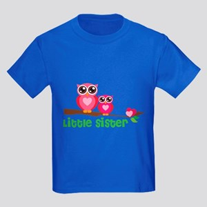 Little sister Kids Dark T-Shirt