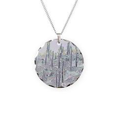 Many Saguaros Recreated Necklace