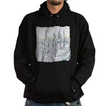 Many Saguaros Recreated Hoodie (dark)