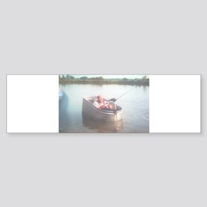 Hillbilly Bass Boat Sticker (Bumper)