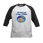Bag of Chips Kids Baseball Jersey