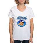 Bag of Chips Women's V-Neck T-Shirt