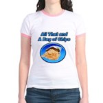 Bag of Chips Jr. Ringer T-Shirt