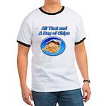Bag of Chips Ringer T