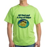 Bag of Chips Green T-Shirt