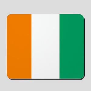 Ivory Coast Flag Mousepad