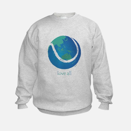love all world tennis Sweatshirt