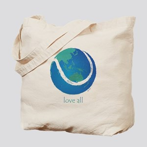 love all world tennis Tote Bag
