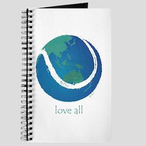 love all world tennis Journal